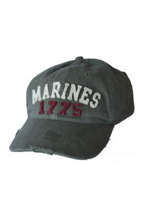 Casquette US appliquée Marines 1775