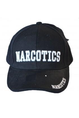 Casquette brodée Narcotics noire