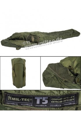 Sac de couchage Tactical 5 -20°c