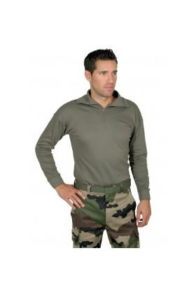 chemise F1 kaki armée française coton
