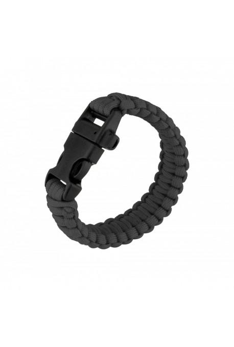 Bracelet de survie Paracorde + Sifflet