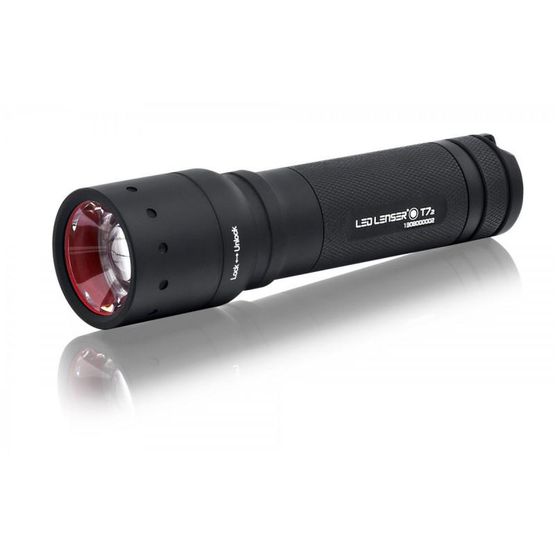 Lampe torche tactique led lenser t7 2 320 lumens - Lampe torche led militaire ...