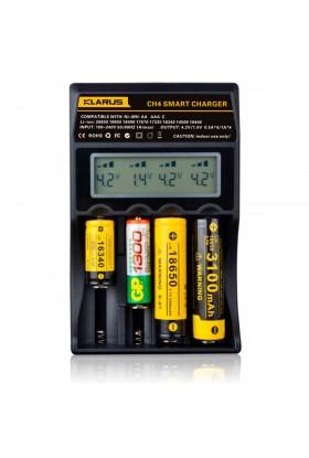 Chargeur Klarus pour 4 batteries rechargeables