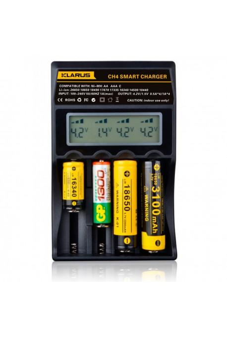 chargeur klarus pour 4batteries rechargeables. Black Bedroom Furniture Sets. Home Design Ideas