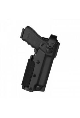 Holster VKZ804 pour Glock 17/19/18/22/23 + Porte-lampe/laser