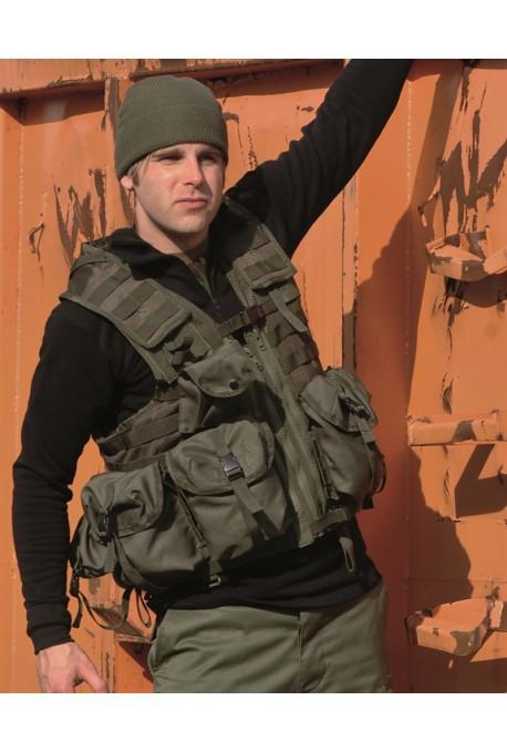 Gilet Tactique modulable huit poches