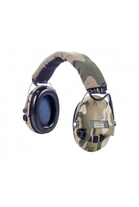 casque anti bruit MSA camouflage CE Supreme Pro X + led