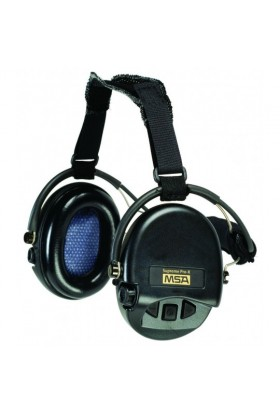 casque anti bruit MSA Supreme pro X avec serre nuque