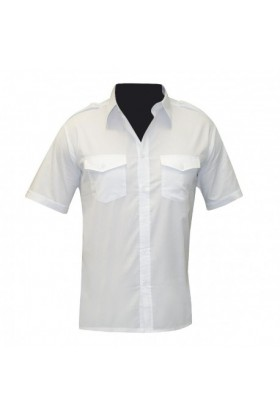 Chemise Pilote Manches Courtes