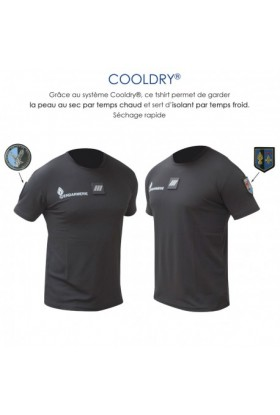 T-shirt Cooldry Maille piquée Gendarmerie