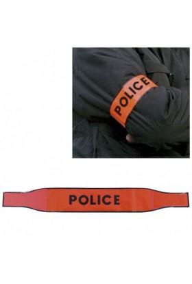 Brassard AUTO-AGRIPPANT POLICE
