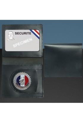 Porte-carte format CB Médaille Maitre-Chien + Portefeuille