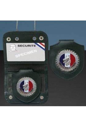 Porte-carte Chaîne + Médaille Maitre-Chien