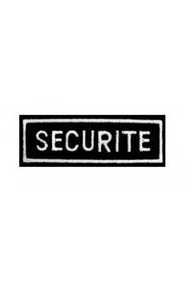 Ecusson Rectangulaire Sécurité