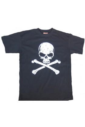 T shirt tete de mort
