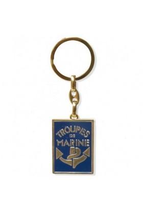 Porte clé Troupes de Marine