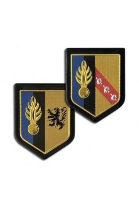 Ecusson plastifié Région Gendarmerie Mobile Légion