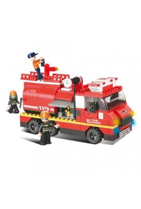 Camion de Pompiers lance à eau M38-B0220 SLUBAN