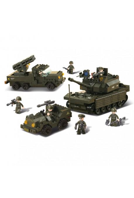 Set de véhicules Militaires M38-B6800 SLUBAN