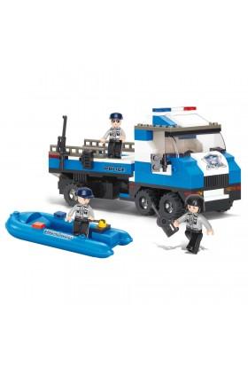 Camion de Police + Canot M38-B0186 SLUBAN