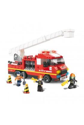 Camion de Pompiers Grande Echelle M38-B0276 SLUBAN