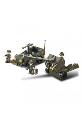 Flak Anti-Aérienne + Jeep M38-B5900 SLUBAN