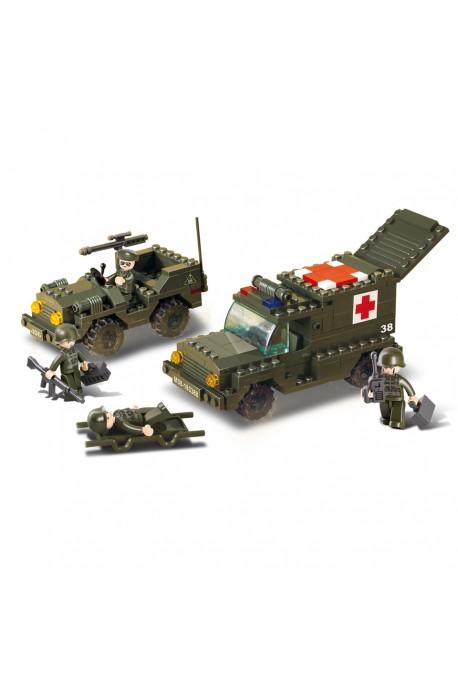 Ambulance Militaire + Jeep M38-B6000 SLUBAN
