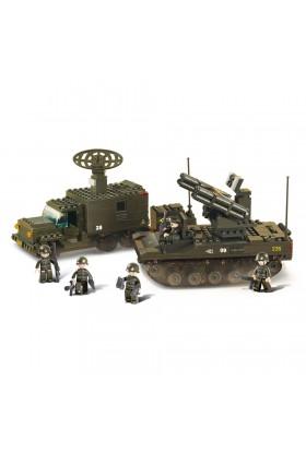 Véhicule Lance-roquette + Véhicule Emetteur M38-B6700 SLUBAN