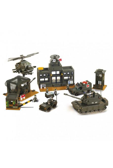 Quartier Général Militaire M38-B7100 SLUBAN