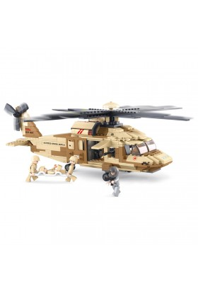 Hélicoptère UH-60 Black Hawk M38-B0509 SLUBAN