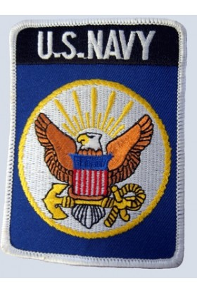 Ecusson brodé US navy