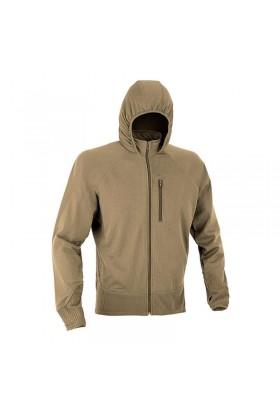 Veste polaire zippée avec capuche tempête DEFCON 5