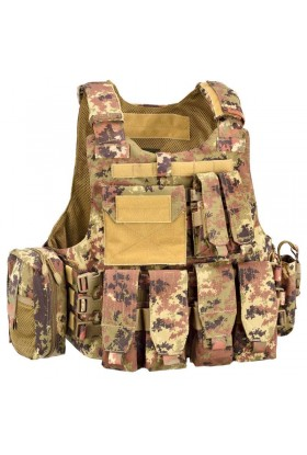 Gilet de combat CARRIER FULL SET 1000D DEFCON 5